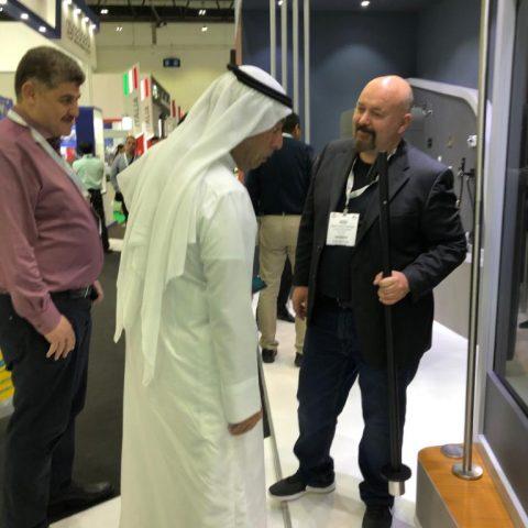 foto the BIG FIVE DUBAI 2019 stand visitatori