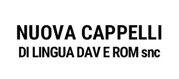 NUOVA CAPPELLI DI LINGUA DAV E ROM snc