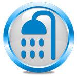 simbolo ambiente bagno doccia