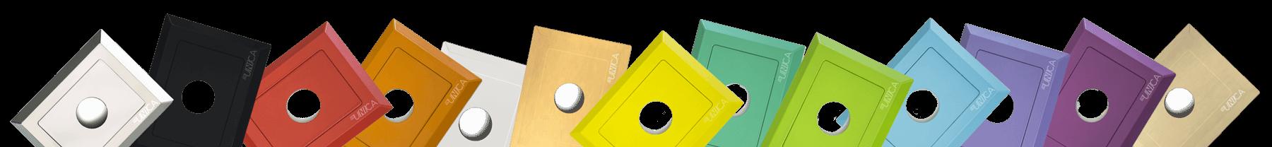 immagine rappresentativa colori placca inUNICA - fascia footer