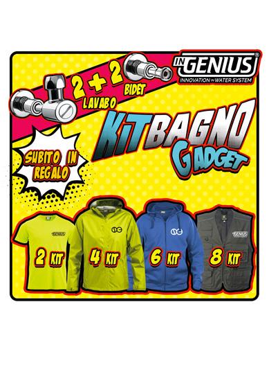 Gadget Kit Promozione Bagno