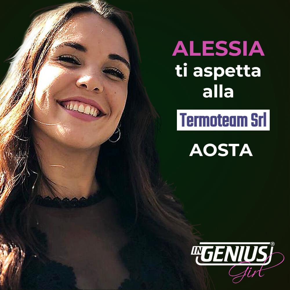 Alessia presso Termotem Aosta