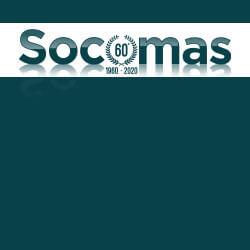 Rivendita SOCOMAS logo anniversario 60 anni - square